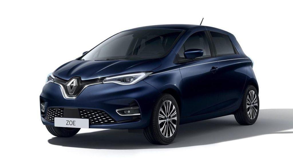 Vollansicht des Renault Zoe Riviera