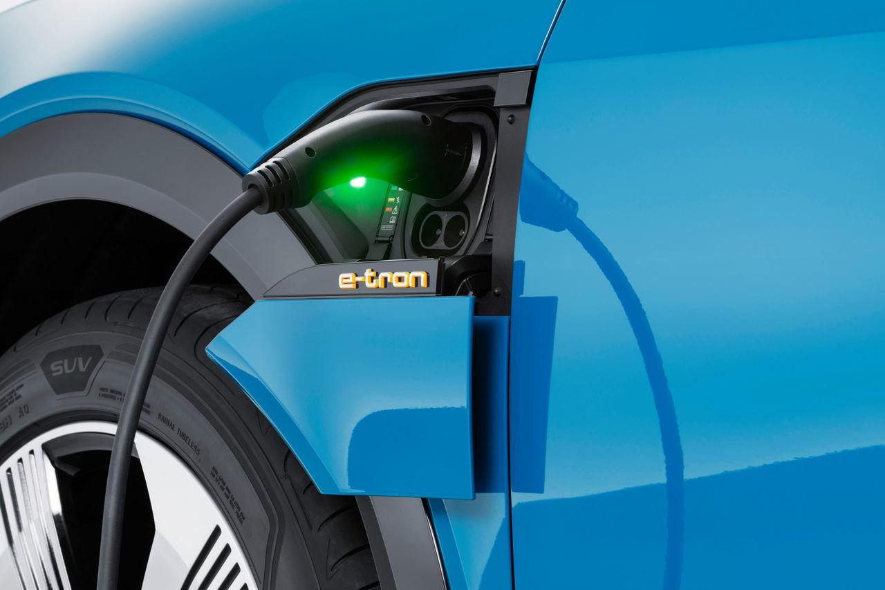 Ladeanschluss Audi e-tron