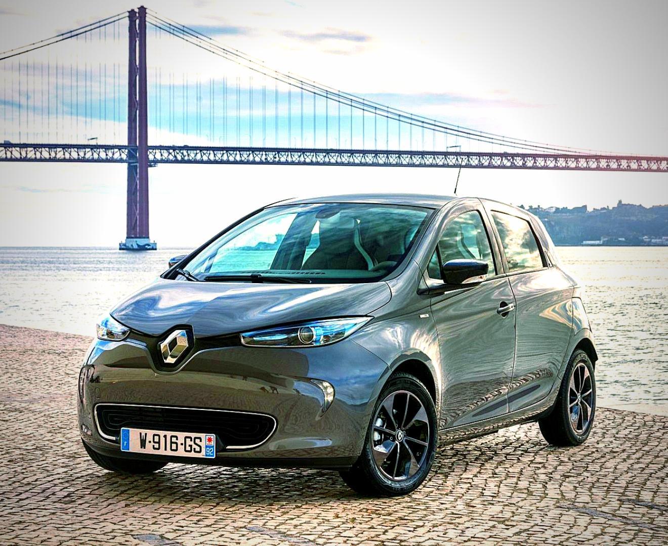 Renault ZOE Außenansicht