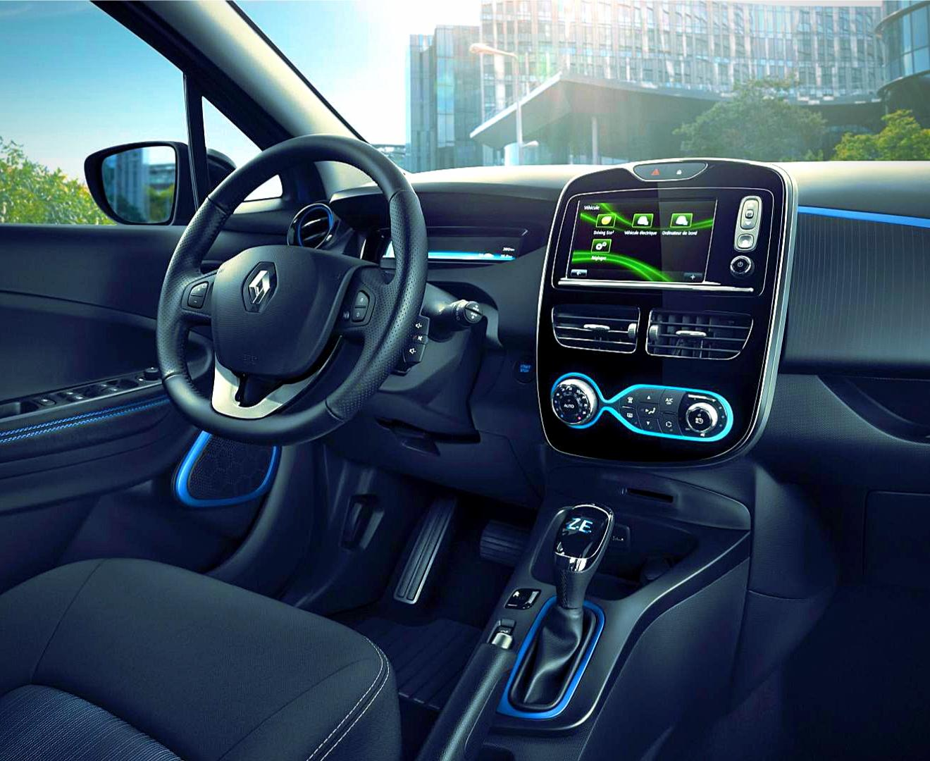 Renault ZOE Innenraumansicht