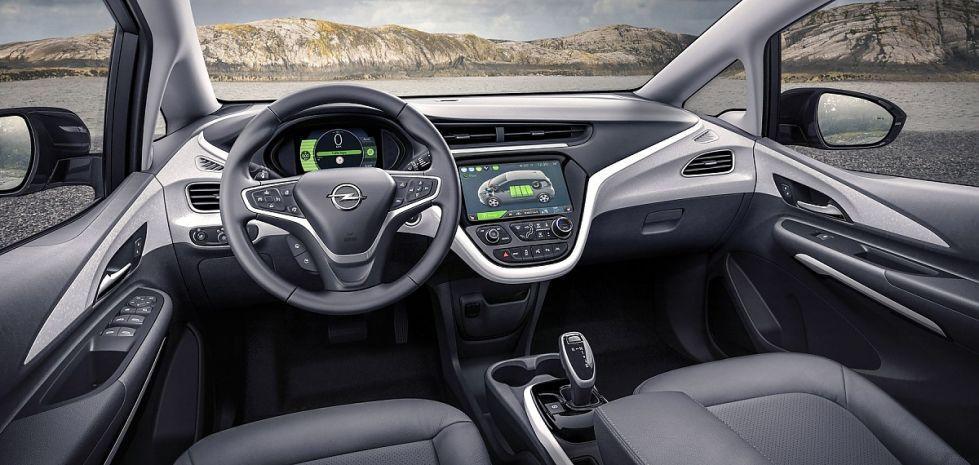 Opel Ampera Innenraumansicht