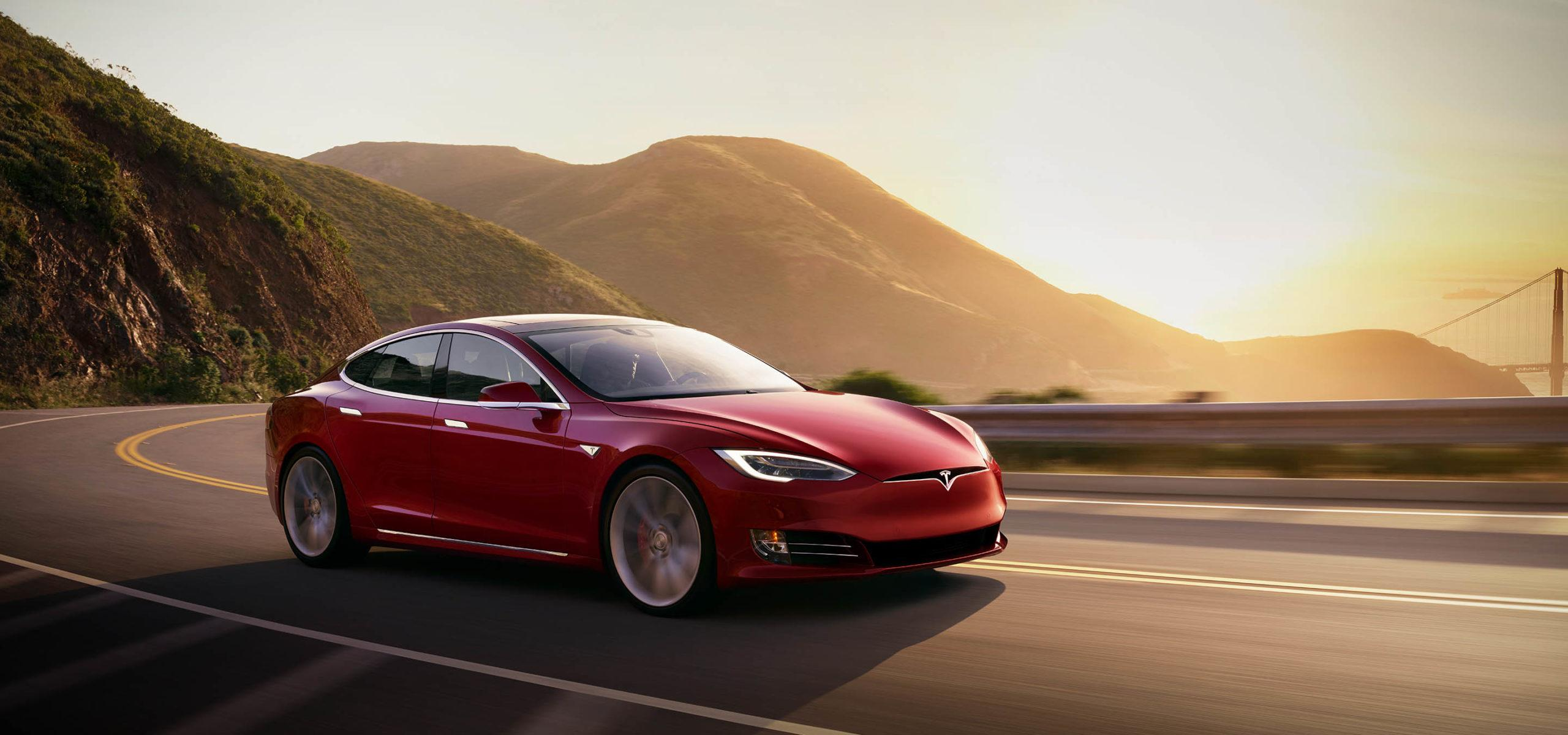 Tesla Model S Frontansicht