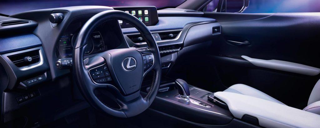 Interieur des Lexus UX300e