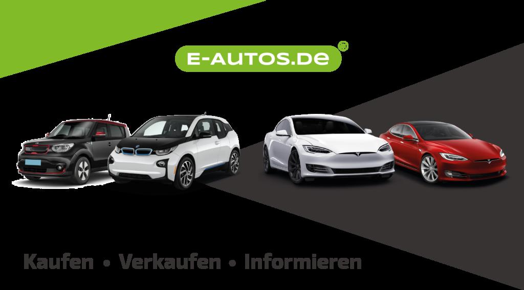 Banner E-Autos mit vier Elektromodellen