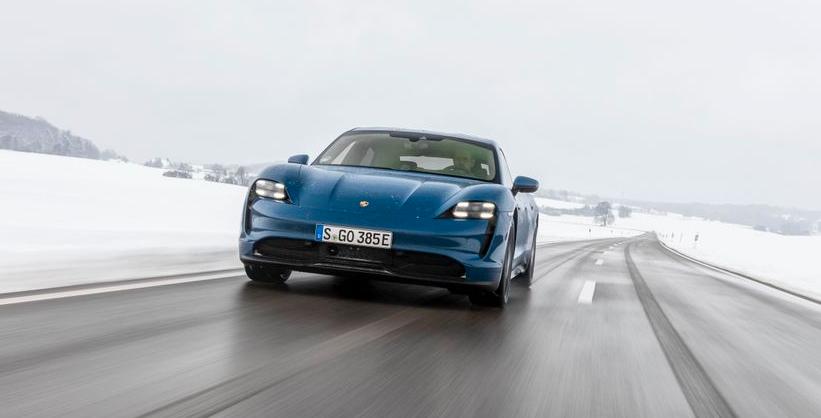 Porsche Taycan – bald geht's rund!