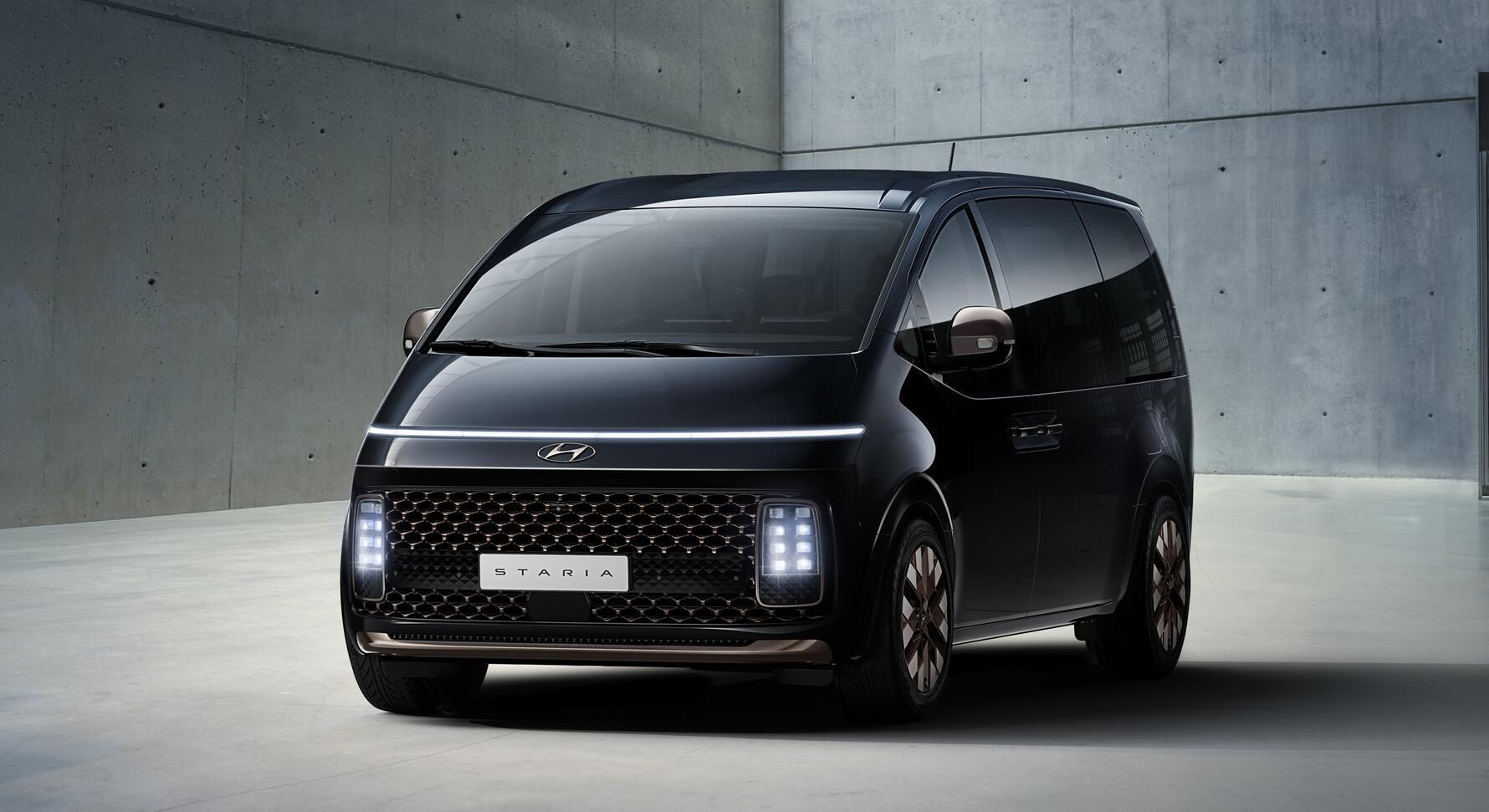 Hyundai Staria – der futuristische Kompaktvan