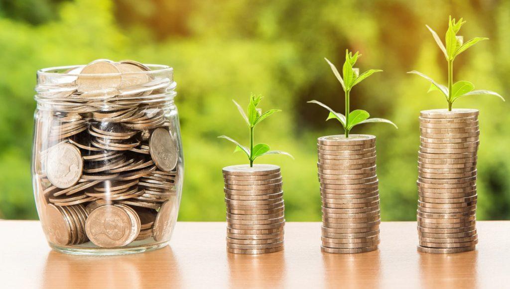 Geld aus dem Pflanzen wachsen
