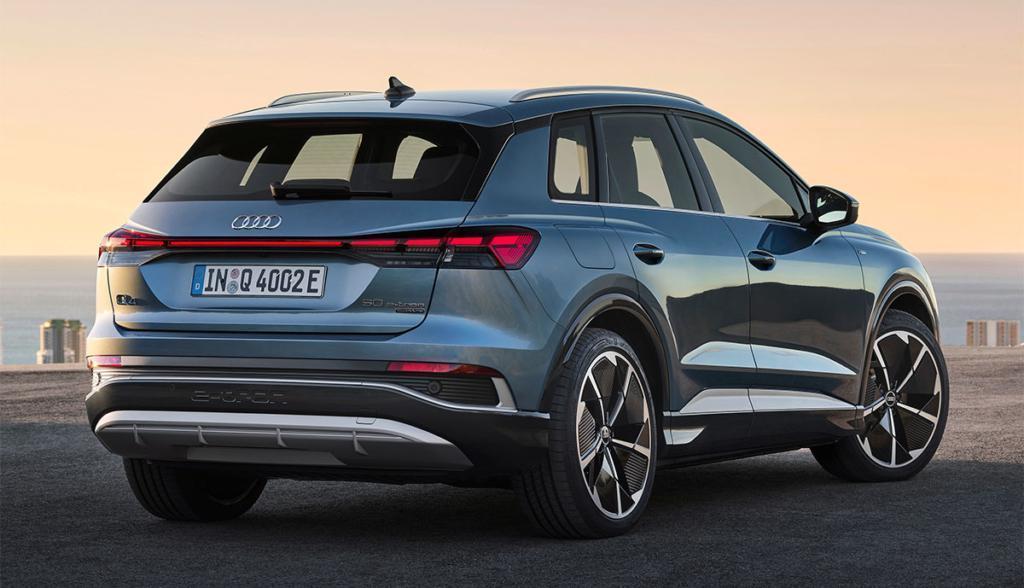 Heck des Audi Q4 e-tron