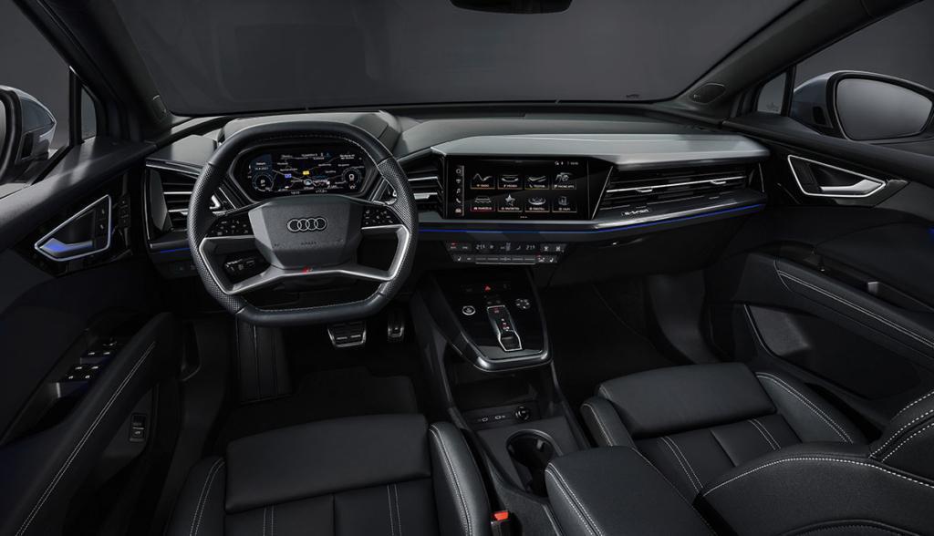 Innenraum des Audi Q4 e-tron