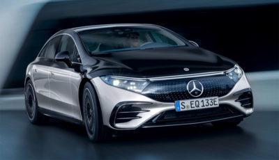 Mercedes EQS – die elektrische S-Klasse
