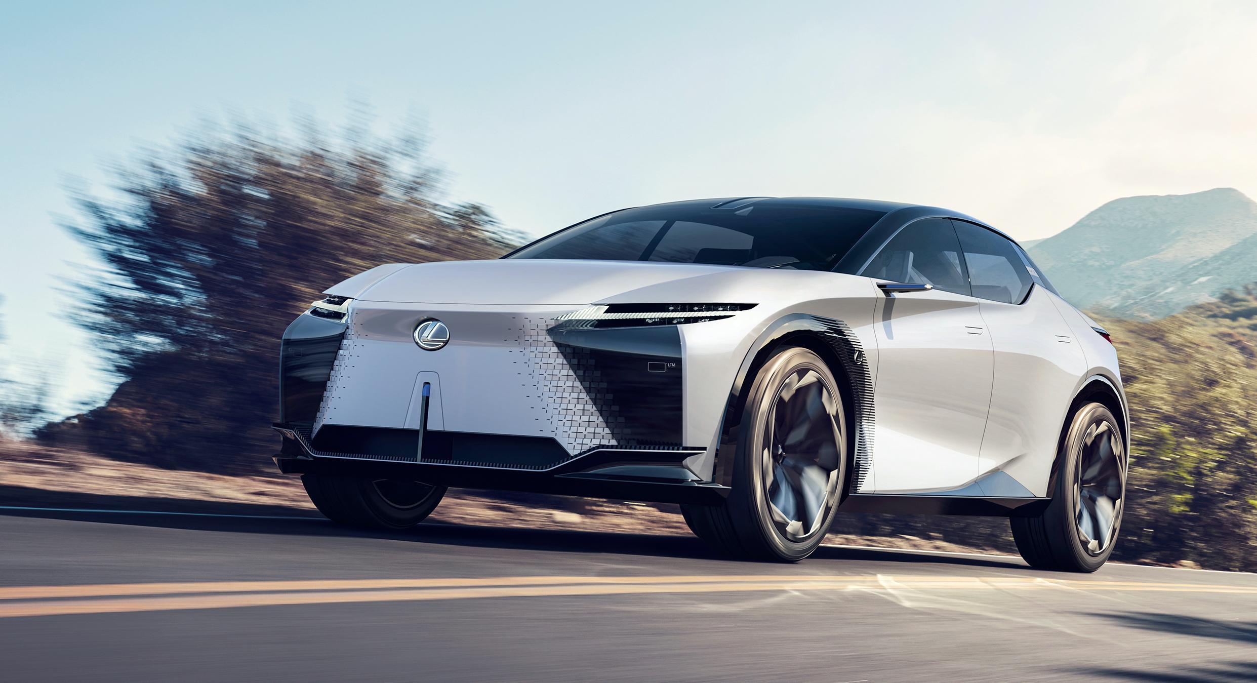 Lexus LF-Z Electrified – Ausblick in die Zukunft der Marke