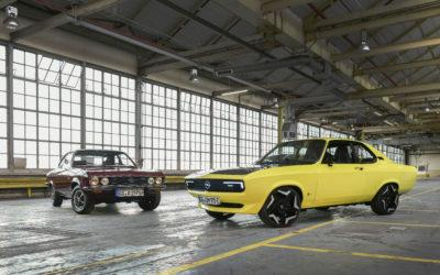 Opel E-Manta – Elektrifizierte Nostalgie