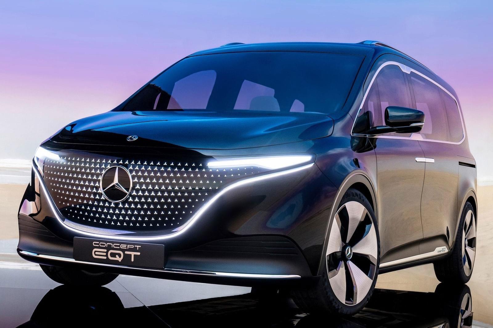 Mercedes EQT – ein moderner Van