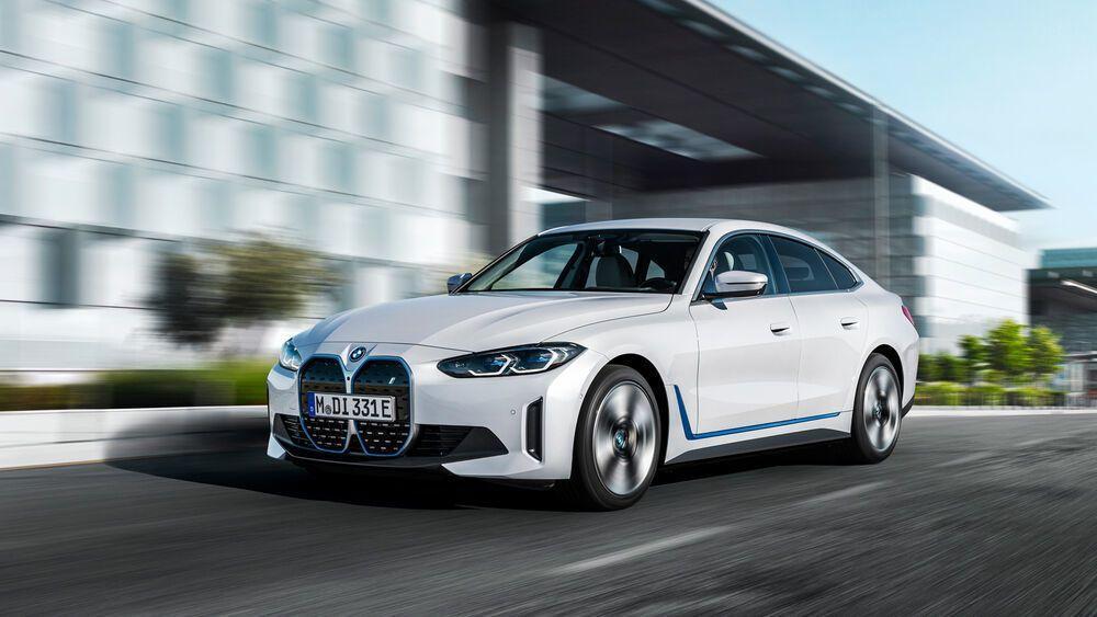 Elektrische Coupé-Limousine BMW i4 eDrive40