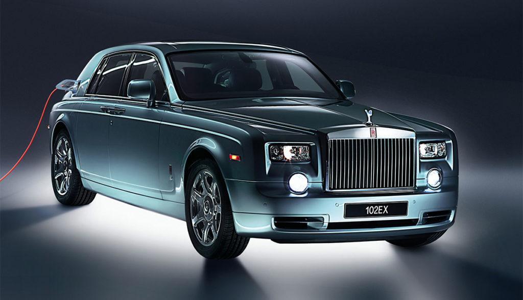 Elektrisches Luxusauto Rolls-Royce 102EX