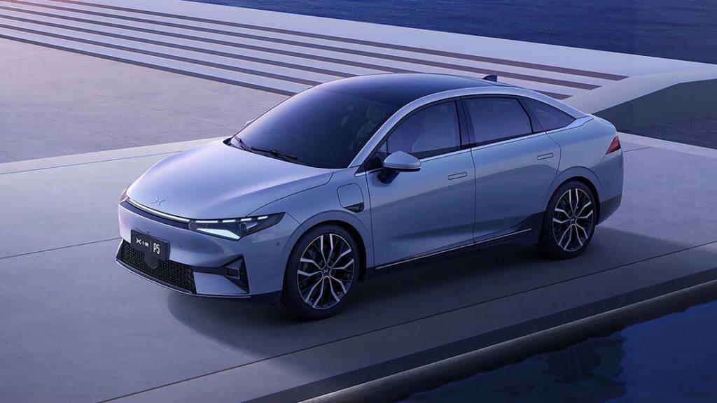 Elektro-Limousine Xpeng P5 des chinesischen Herstellers