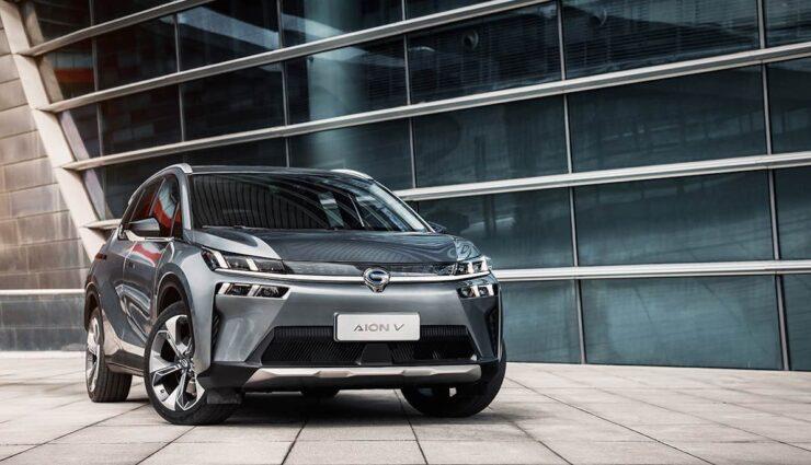 Neues Elektroauto des chinesischen Herstellers GAC Group Aion V