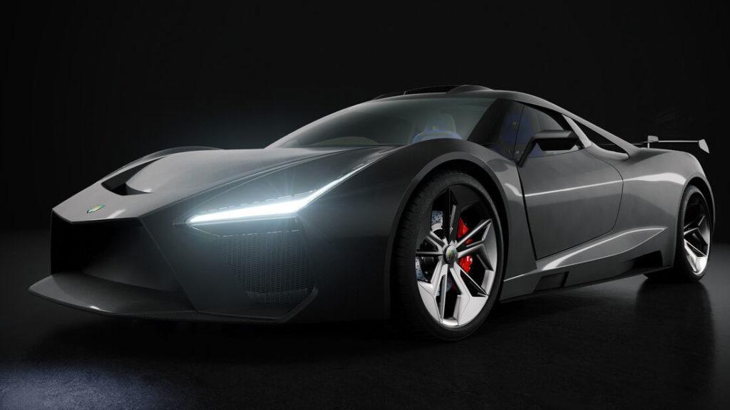 Virtuelles Bild des schweizer Hypercars Morand Cars